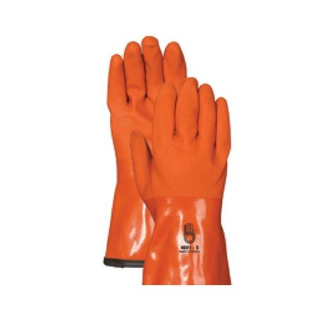 Winter Insulated Gloves; Extra Large, Orange