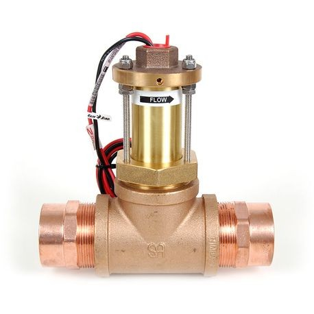 "Rain Bird - 2"" Brass Tee Flow Sensor"