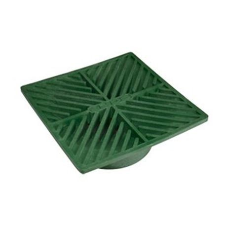 "NDS - 6"" Green Square Grate"