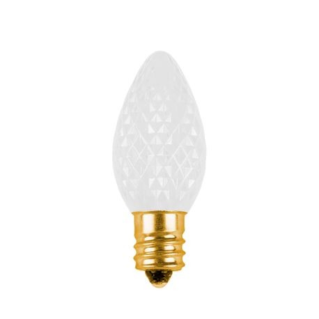 C7 Contractors Choice LED Retrofit Bulb - Faceted - Sun Warm