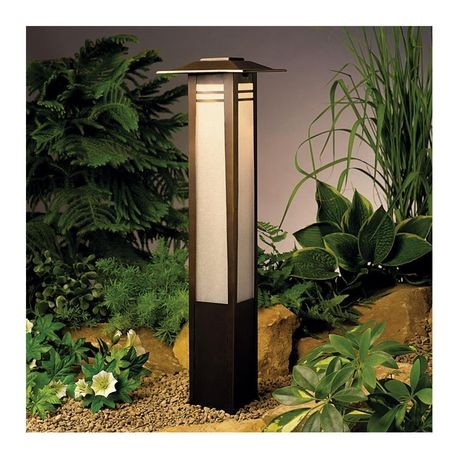 Kichler Lighting - Zen Garden Bollard Path Light - Olde Bronze Finish