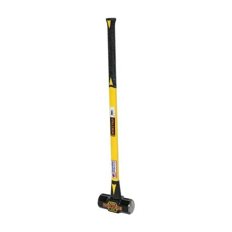 "Structron - 10 LB Sledge Hammer with 36"" Fiberglass Handle"