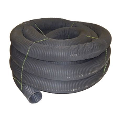 "Advanced Drainage Systems - 6"" X 100' Single Wall Corrugated Perforated Wrapped Pipe"