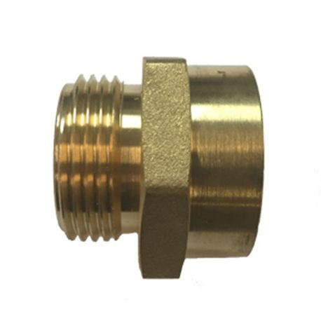 "Anderson Pump & Process - 1"" Brass Hose Fitting 1"" FPT X 1"" MHT"
