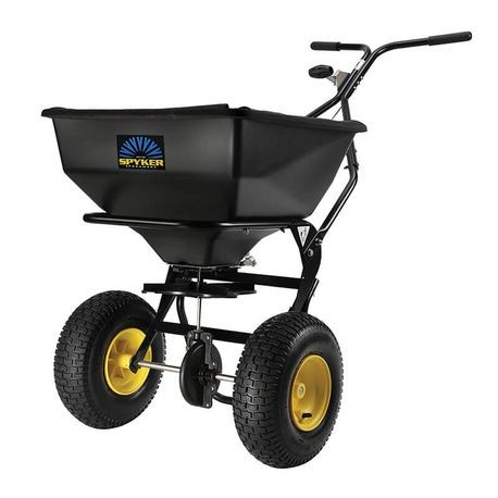 Spyker - Ergo-Pro 80 LB Spreader with Powder Coated Frame