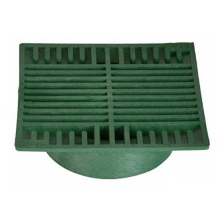 "NDS - 8"" Green Square Grate"