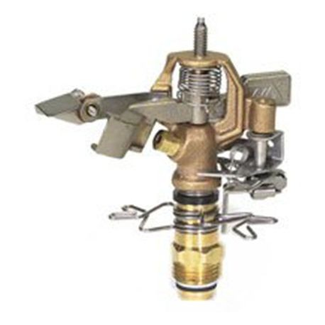 "Storm Maunfacturing - 1/2"" Male NPT Brass Impact Sprinkler Full-Circle/Part Circle"