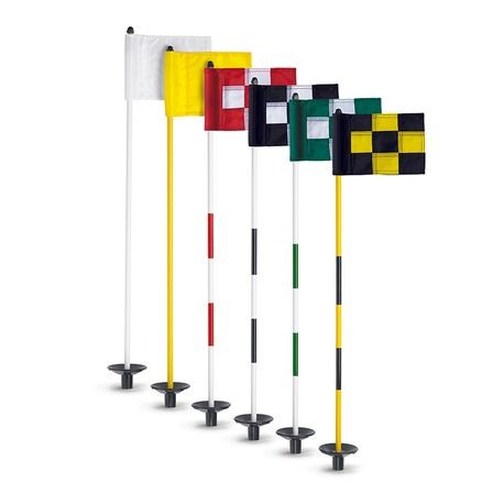 Par Aide - JR Flagstick Practice Green Marker - Bright Yellow