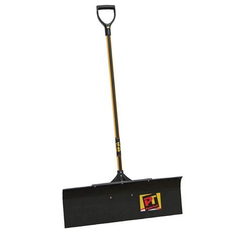 "Yo-Ho - PolarTuff Pusher Shovel - 12"" X 36"" Braced Blade"