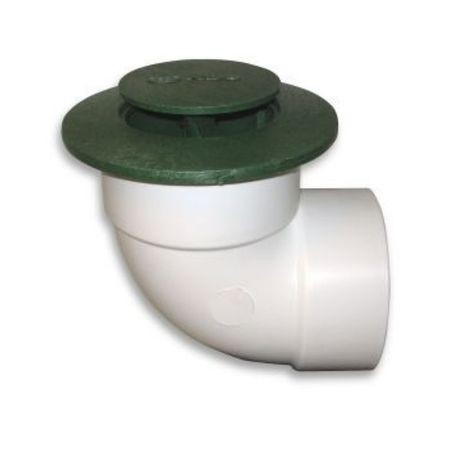 "NDS - 4"" Pop-Up Drainage Emitter with Elbow"