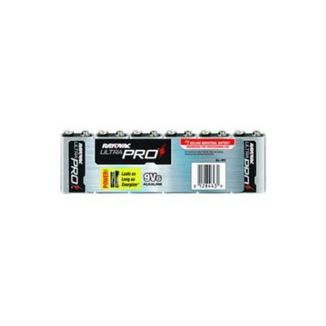 T Christy Enterprises - Alkaline 9V Battery, Pack of 6