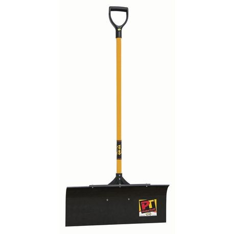 "Yo-Ho - PolarTuff Pusher Shovel, 12"" X 30"" Braced Blade"