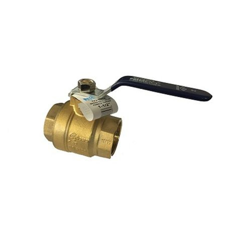 "Nibco - TFP600A - 1-1/2"" 600 PSI Full Port Brass Ball Valve"