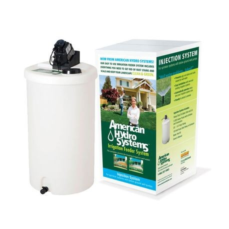 Pro Products - American Hdyro Systems 30 GAL Injection System with Tank & IPU-16 Pump