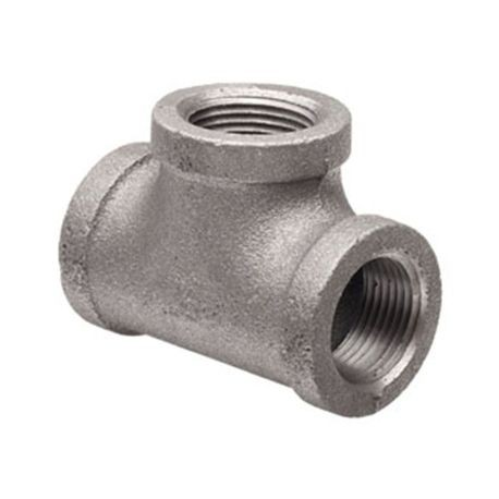 "Harco - 3"" X 3"" X 2"" Ductile Iron IPS Tapped Tee - FPT Outlet"