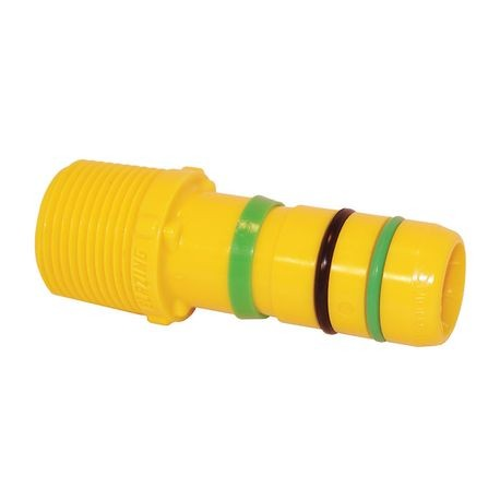 "Blazing - Fast Fitting  -1"" Standard Male Adapter"