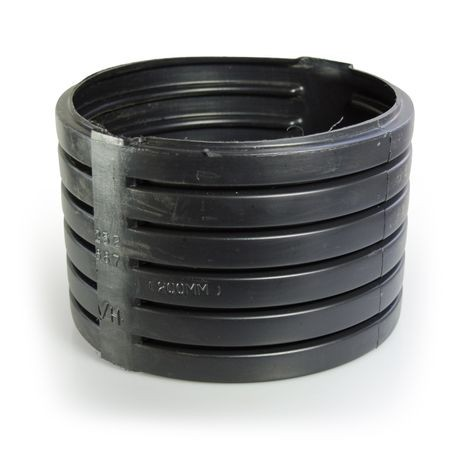 "ADS - 8"" Single Wall Split Band Corrugated Coupling"