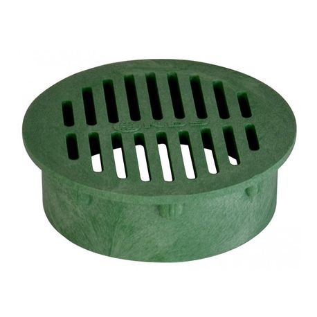 "NDS - 6"" Green Round Grate"