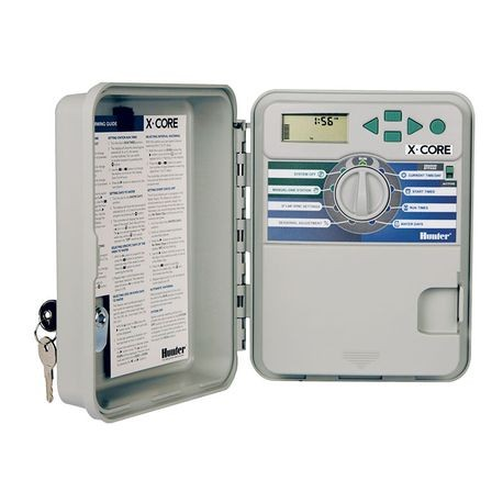 Hunter - 6 Station X-CORE Series Outdoor System Controller