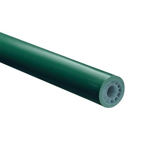 "Par Aide - 54"" Replacement Green Honeycomb Handle with Rubber Grip"