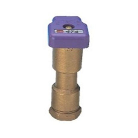 "Toro - 1-Piece 1"" Acme Thread Quick Coupler with Vinyl Effluent Cover"
