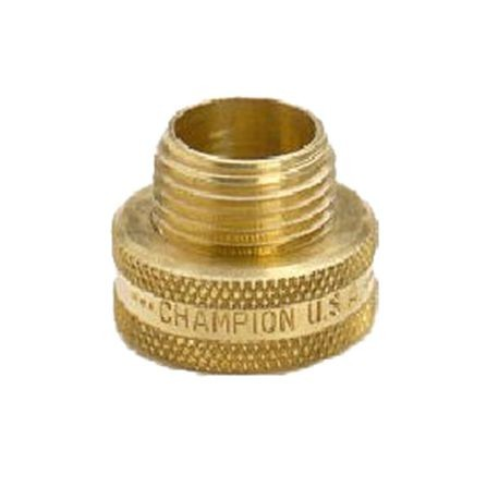 Brass Non-Swivel Fitting 3/4 MHT X 3/4 Male Or 1/2 FPT
