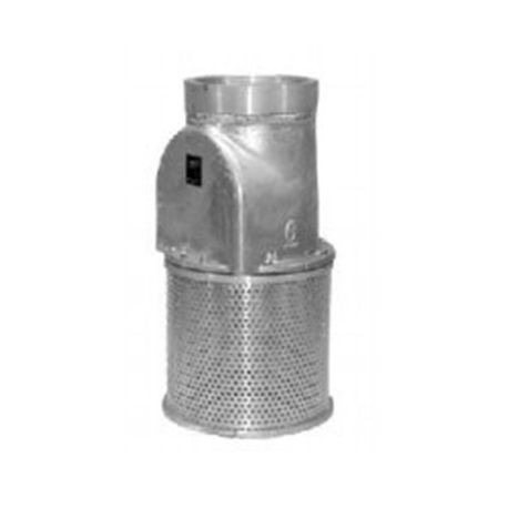 "Sure Flo Fittings - 4"" Vertical Foot Valve"