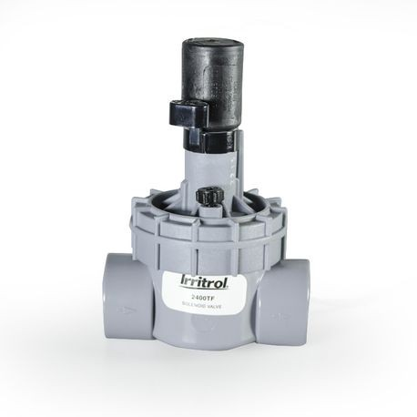 "Irritrol - 2400 Series - 1"" NPT Angle Valve with Flow Control"