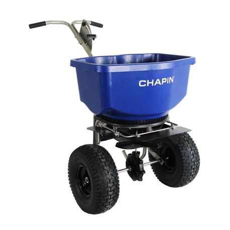 Chapin - 82400B Professional Salt Spreader with Wide Mouth Hopper - 100 LBS