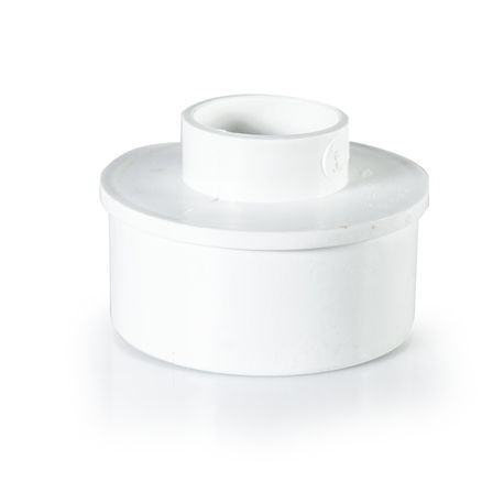 "Plastic Trends - 4"" X 2"" Sewer X Sch40 Adapter"