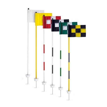 Par Aide - Cupless JR Flagstick Putting/Chipping Target - Bright White