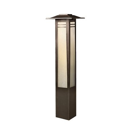 Kichler - Zen Garden 11.6W Incandescent Bollard Path Light - Olde Bronze