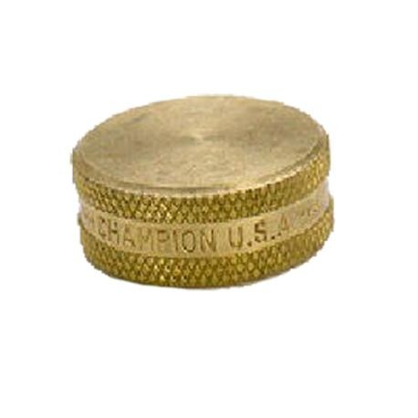Brass Hose End Cap 3/4 Female