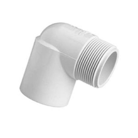 "Spears - 1-1/2"" PVC Swing Joint 90° Elbow FBT X MPT"