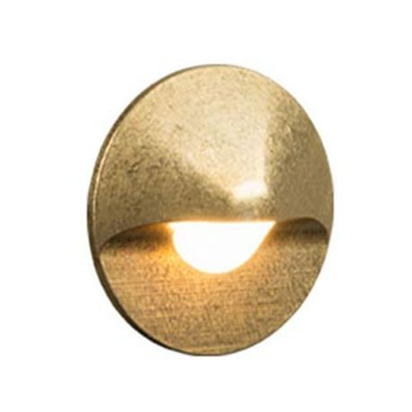 FX - CG Series Halogen Wall Light - Natural Brass Finish