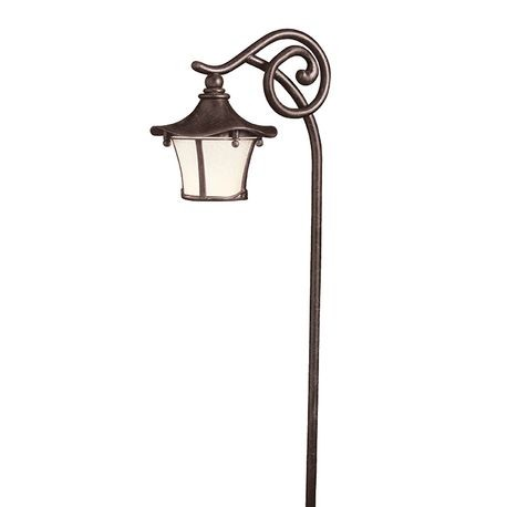 Kichler - Cotswold Path Lantern - Aged Bronze Finish