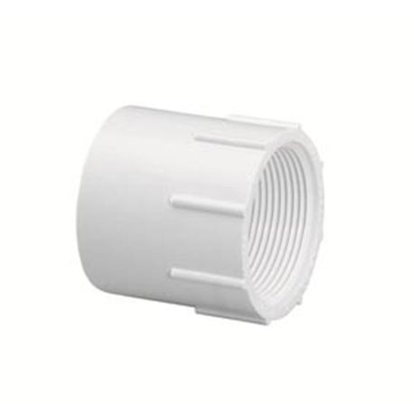 "Spears - 6"" Sch40 PVC Female Adapter Slip X FPT"