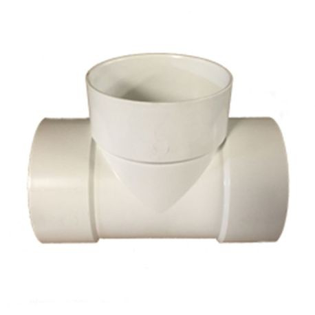 "Multi Fittings - 8"" PVC Sewer Tee Slip X Slip X Slip"