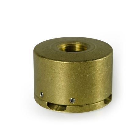 "FX Luminaire - VersaBox 1/2"" FPT - Natural Brass Finish"