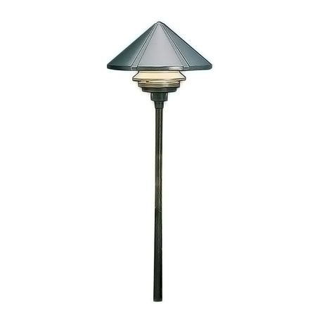 Kichler - One Tier Path Light, Bronze
