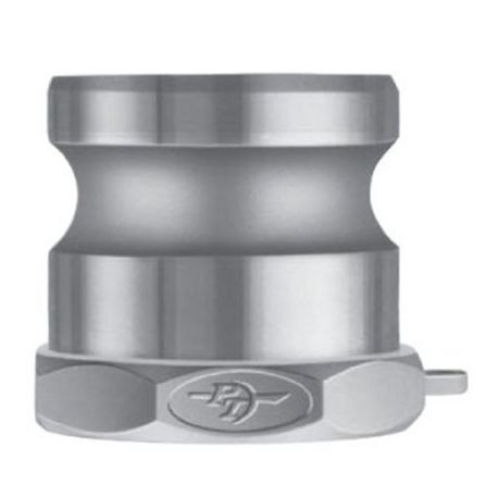 "P-T Coupling - 4"" Aluminum A-Adapter - Adapter X Female NPT Thread"
