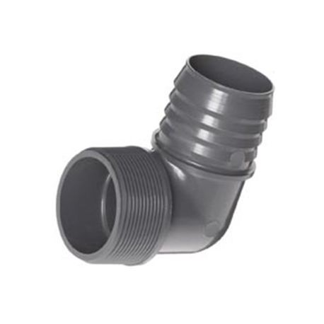 "Spears - 1"" X 1/2"" PVC 90° Reducing Elbow Insert X Mipt"