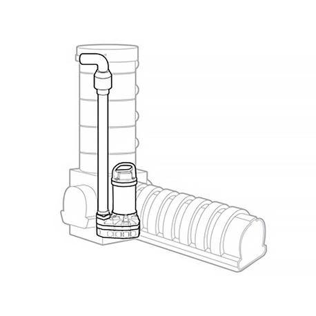 Aquascape - Snorkel™ Vault & Cap 14