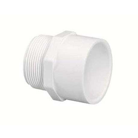 "Spears - 2-1/2"" Sch40 PVC Male Adapter MPT X Slip"