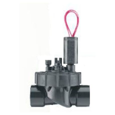 "Hunter - PGV Series 1"" Jar Top Globe Valve with Flow Control Male NPT x 1"" Barb"