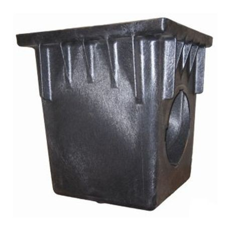 "NDS - 24"" Black 2 Opening Catch Basin"