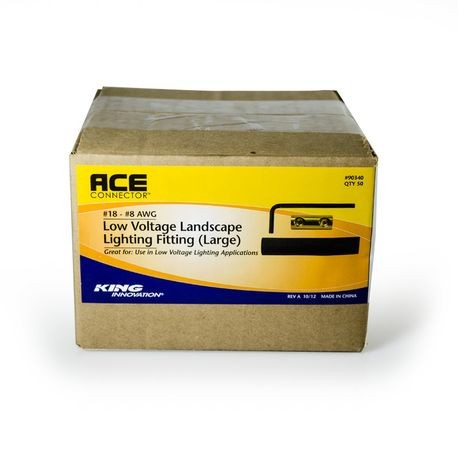King Innovation - Large Ace Connector, Box of 50