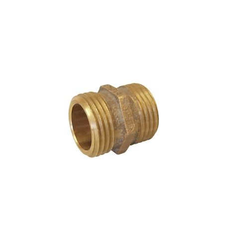 Brass Non-Swivel Fitting 3/4 MHT X 3/4 MHT