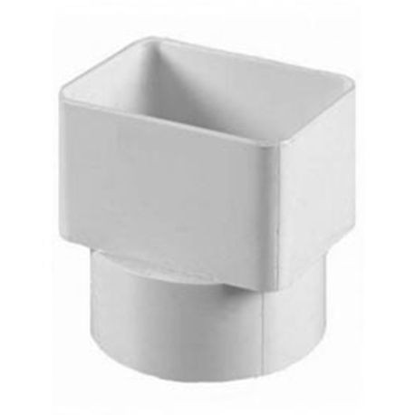 "Multi Fittings - 4"" X 3"" X 2"" PVC Sewer Downspout Adapter"