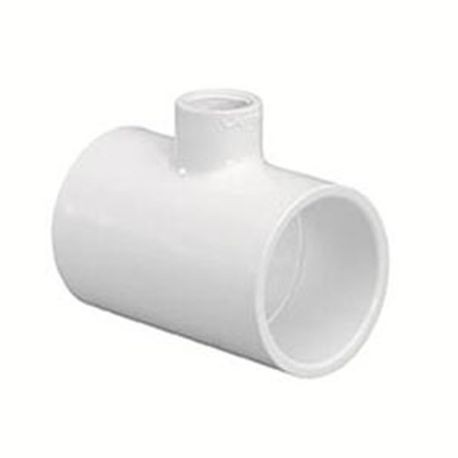 "Spears - 3"" X 3"" X 1-1/2"" Sch40 PVC Reducing Tee Slip X Slip X FIPT"